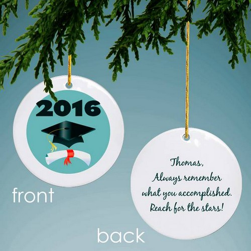 Graduation Personalized Keepsake Ornament