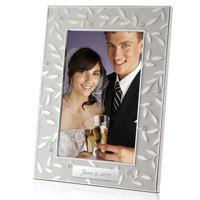 Seasons of Love Personalized 4x6 Wedding Photo Frame