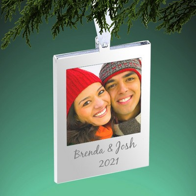 Silver Frame Tree Ornament
