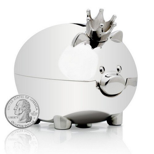 Pig gifts merchandise pig gift ideas unique cafepress personal blog - Engraved silver piggy bank ...