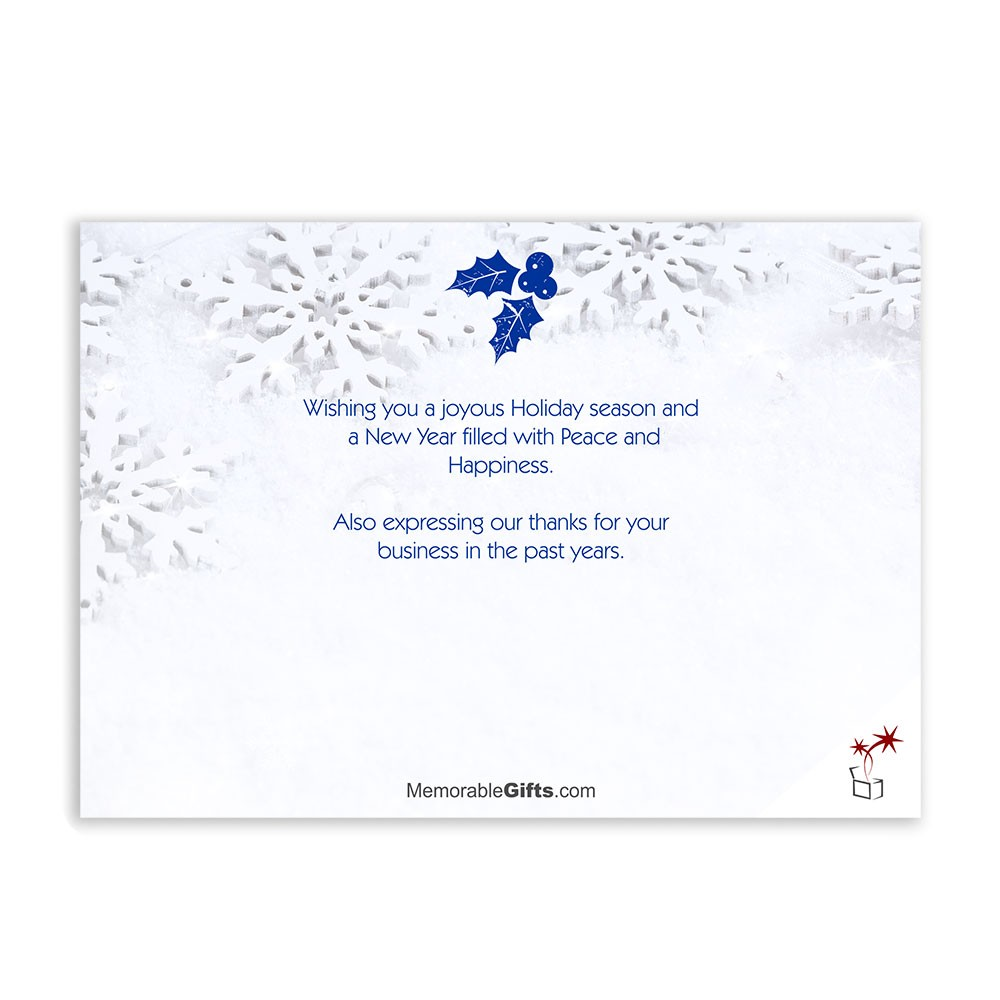 Holiday Card Messages For Business Images - Business Card Template