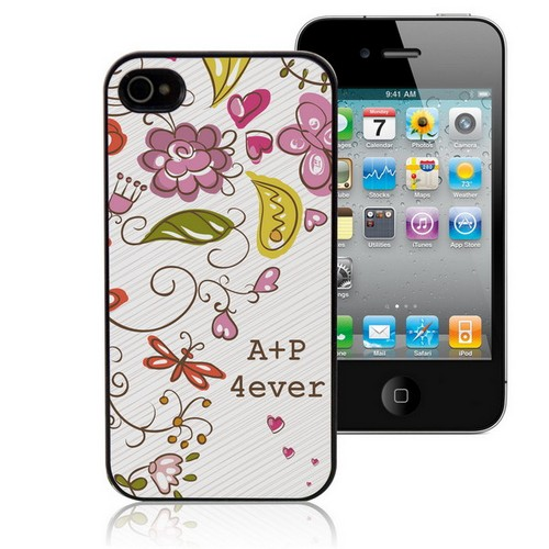 Spring Romance Personalized iPhone Case