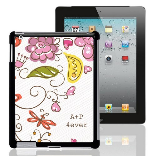 Spring Romance Personalized iPad Case