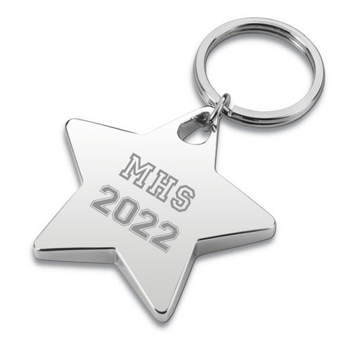 Star Graduate Keychain - ON CLEARANCE WHILE SUPPLIES LASTS