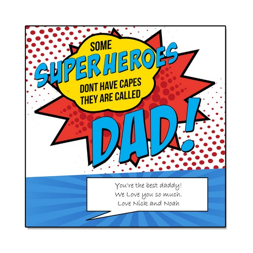 Super Dad Wall Panel