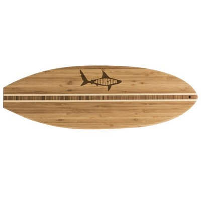 Surfs Up Personalized  Bamboo Cutting Board