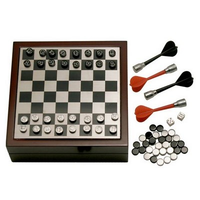 Personalized 4 in 1 Mini Game Set