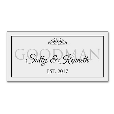 The Couples Personalized Wall Sign