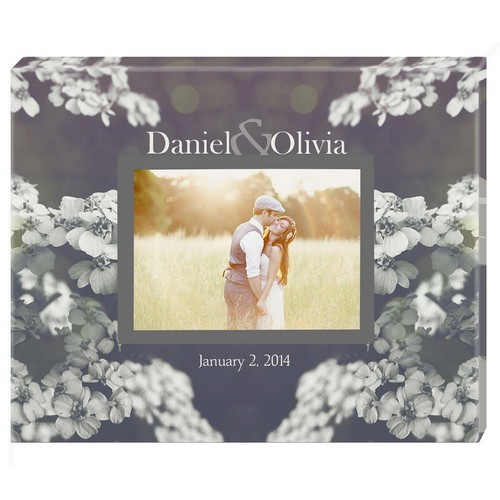 Together Forever Personalized Photo Wall Canvas