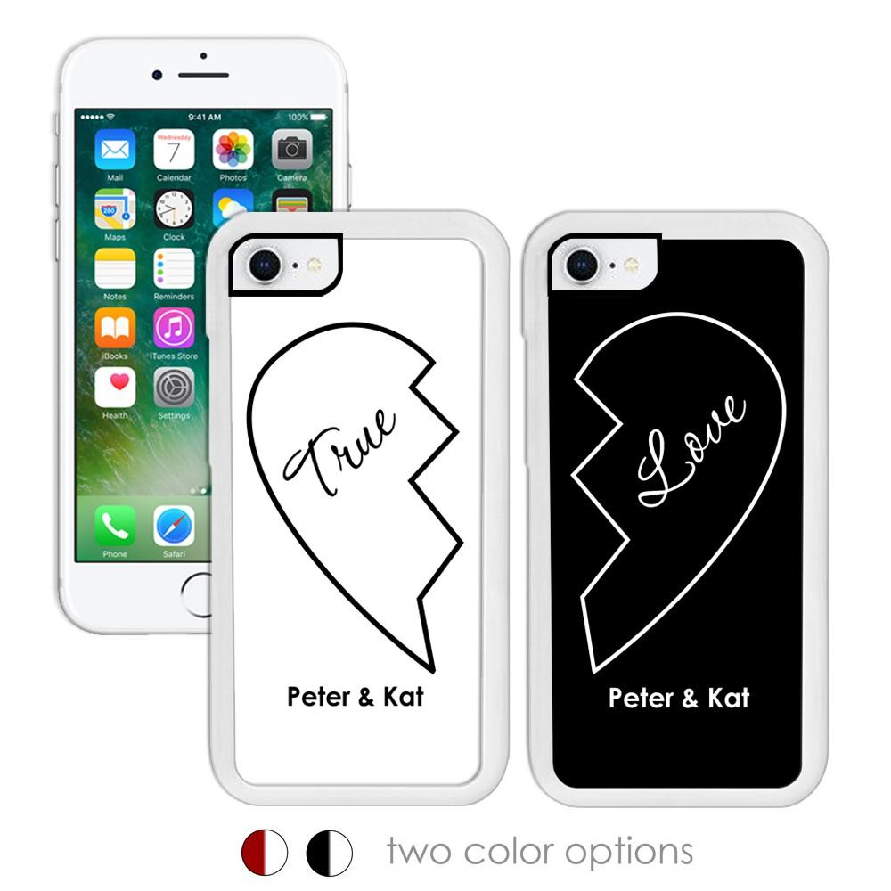 True Love Personalized Iphone Case Set