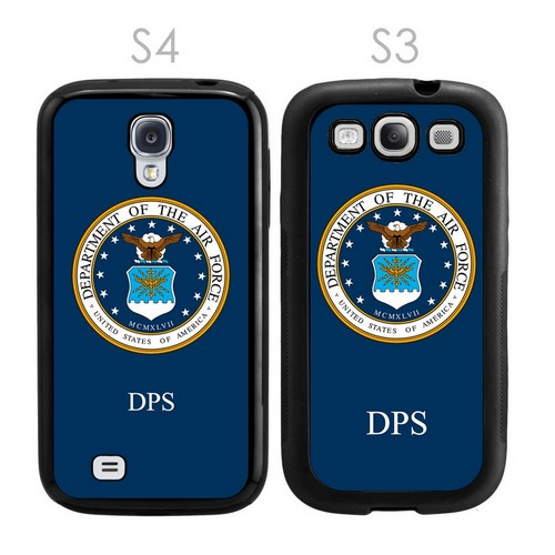 US Air Force Personalized Galaxy S3-S4 Case
