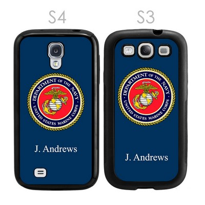 US Marines Personalized Galaxy S3-S4 Case