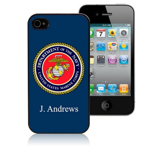 US Marines Personalized iPhone Case