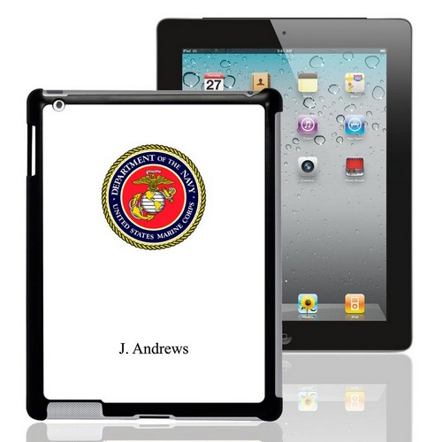 US Marines Personalized iPad Case