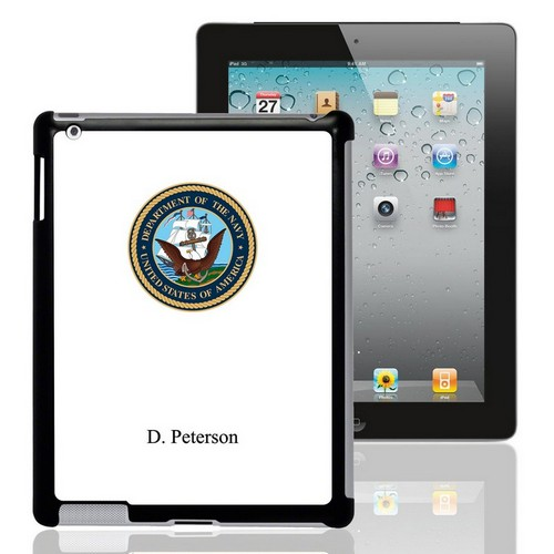 US Navy Personalized iPad Case