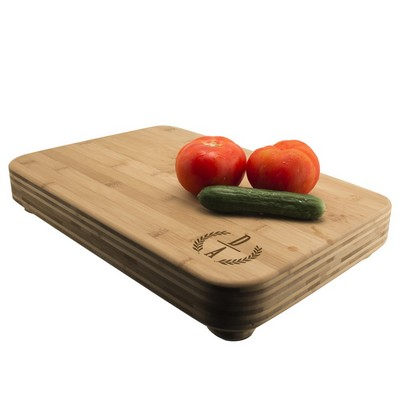 Ultimate Monogrammed Bamboo Cutting Board