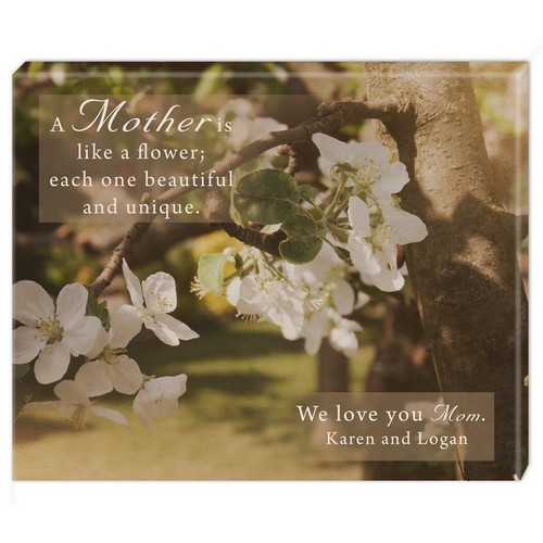 Unique Mother Personalized Wall Canvas