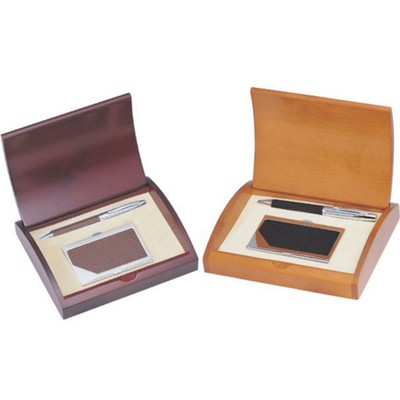 Executive Leather Business Set