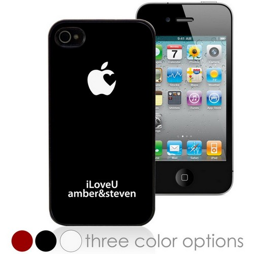 iLoveU Personalized iPhone Case