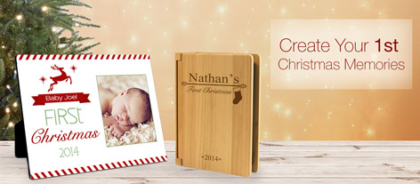 Personalized First Christmas Gifts