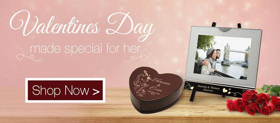 Personalized Valentine's Day Gifts for Her