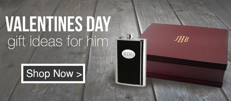 Personalized Valentine's Day Gifts for Him