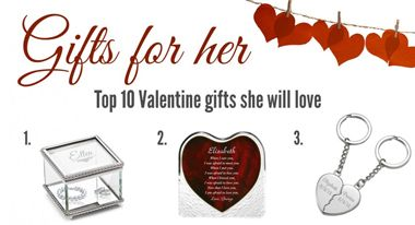 Ten Inspirational Valentine's Day Gifts For Her 2016